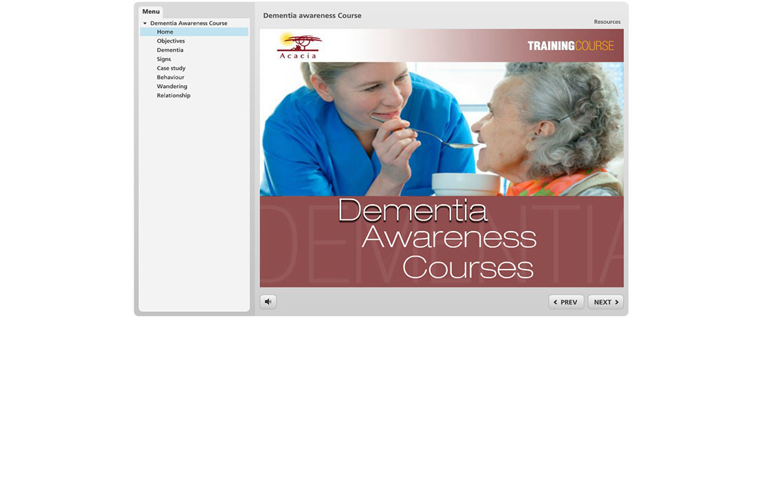 Dementia Awareness Cource